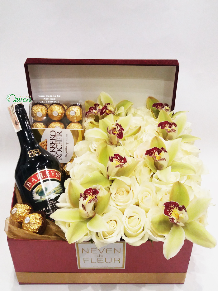 Baylis , Ferrero roche sa ružama i orhidejama